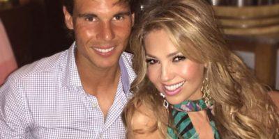 Thalía y Rafa Nadal Foto:Vía instagram @Thalia