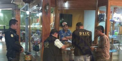 PNC realiza operativos en C.C. en busca de teléfonos robados