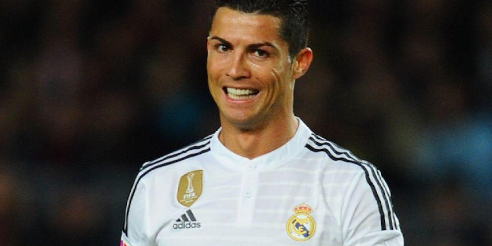 En el Clásico del pasado domingo, Cristiano Ronaldo volvió a causar polémica con su celebración de gol. Foto:Getty Images