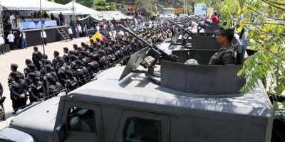 Guatemala y Honduras instalan fuerza binacional contra el crimen en la frontera