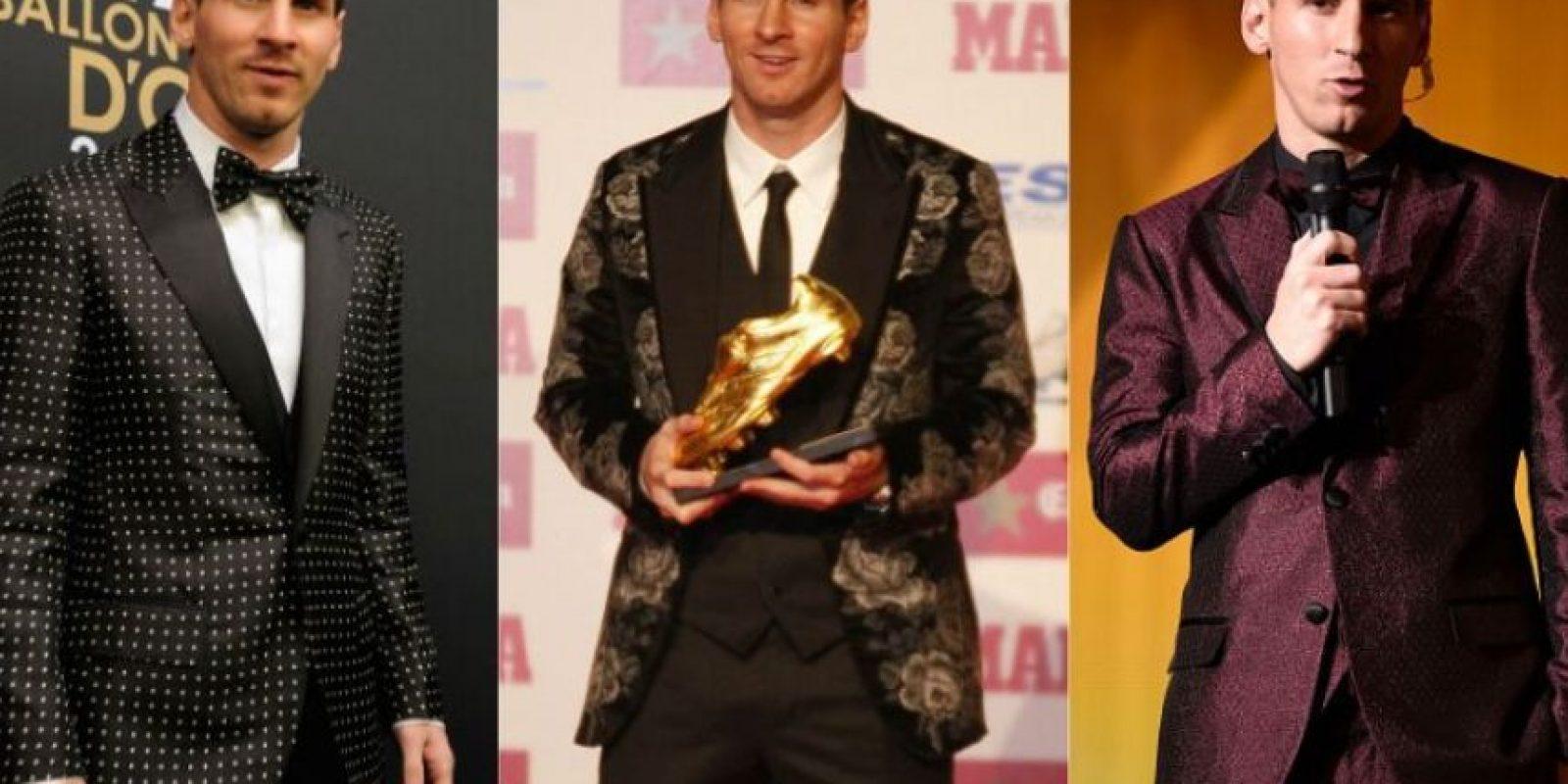 El astro argentino ha causado polémica por sus 'gustos' al vestir. Foto:Getty Images