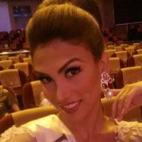 """Isabella Santiago tiene 22 años, es venezolana y ganó el año pasado el """"Miss International Queen"""" Foto:Facebook/Isabella Santiago"""