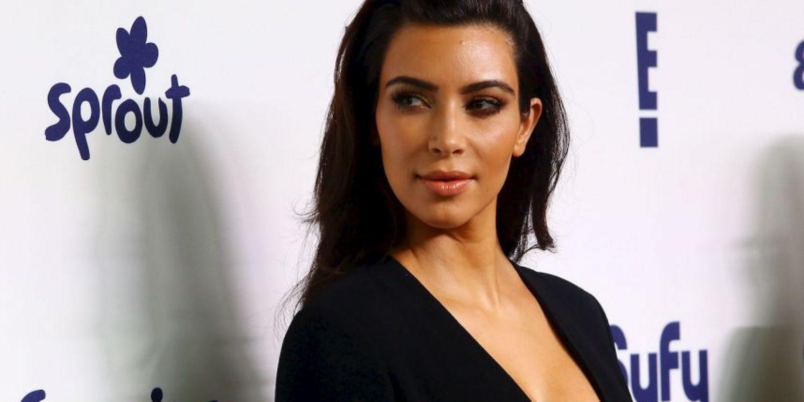 """Kim Kardashian es una de las """"bombas sexuales"""" más famosas del momento. Foto:Getty Images"""