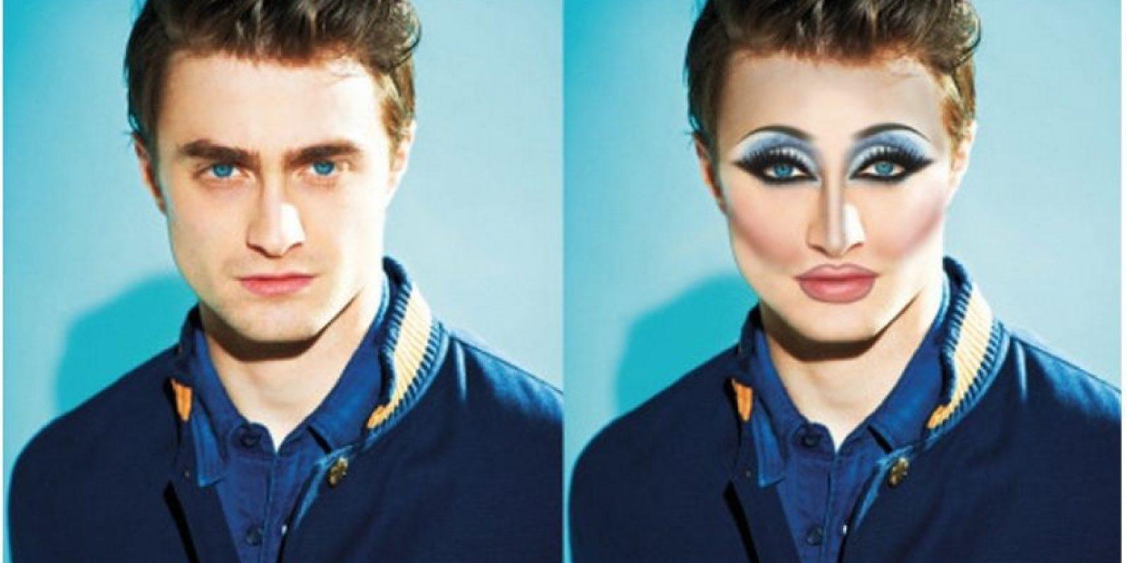 Daniel Radcliffe Foto:celebritiesasdragqueens.tumblr