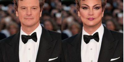 Colin Firth Foto:celebritiesasdragqueens.tumblr