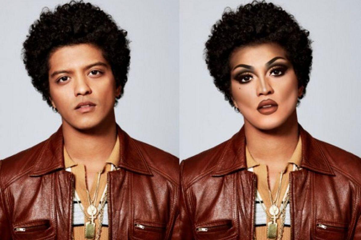 Bruno Mars Foto:celebritiesasdragqueens.tumblr