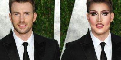 Chris Evans Foto:celebritiesasdragqueens.tumblr