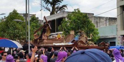 FOTOS. Jesús Nazareno de la Recolección recorre el Centro Histórico