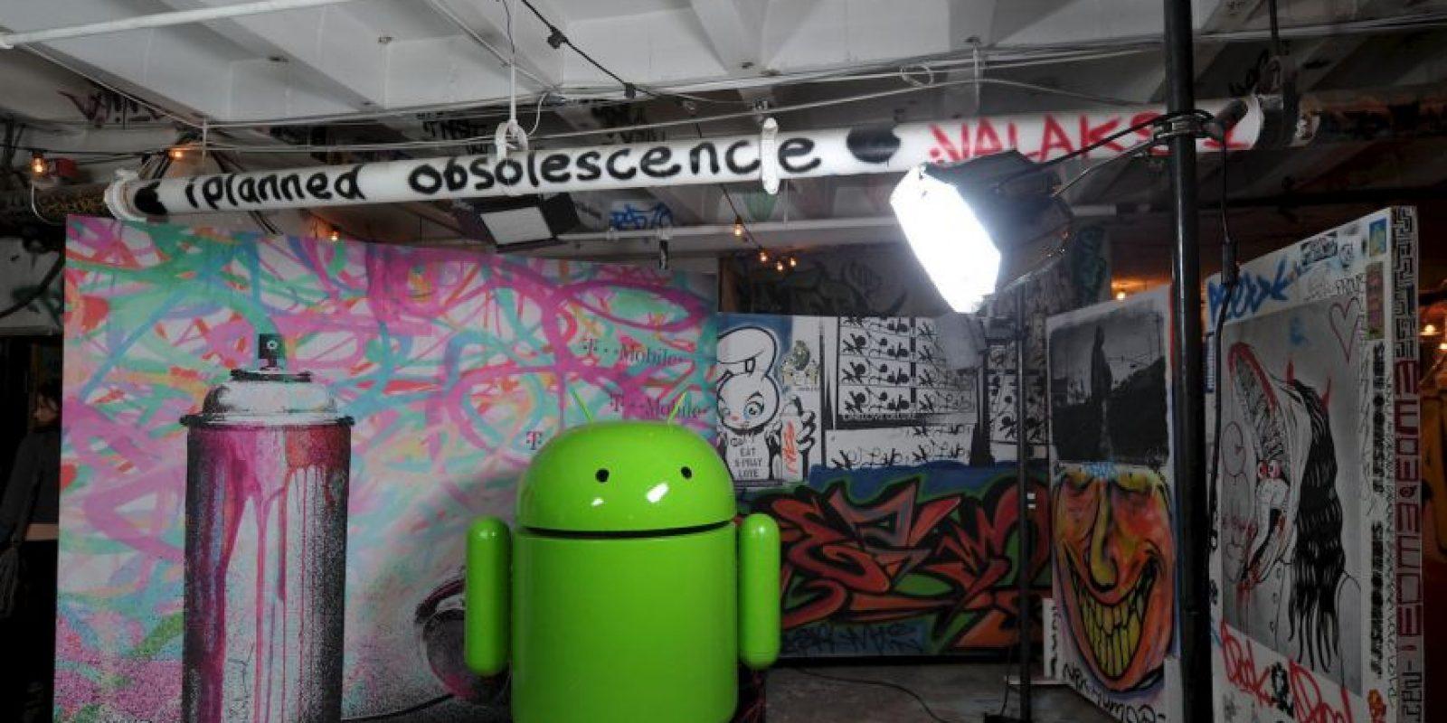 Tenemos para ustedes los más raros dispositivos de Android. Foto:Getty