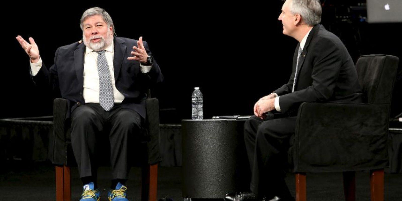 """Stephen Gary """"Woz"""" Wozniak criticó lo ostentoso que resultan algunas versiones del Apple Watch, que serán lanzados el próximo 10 de abril. Foto:Getty"""