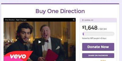 Fans reúnen dinero para comprar lo que queda de One Direction