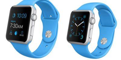 Versión banda azul. Foto:Apple