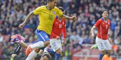 Brasil vence a Chile en Londres