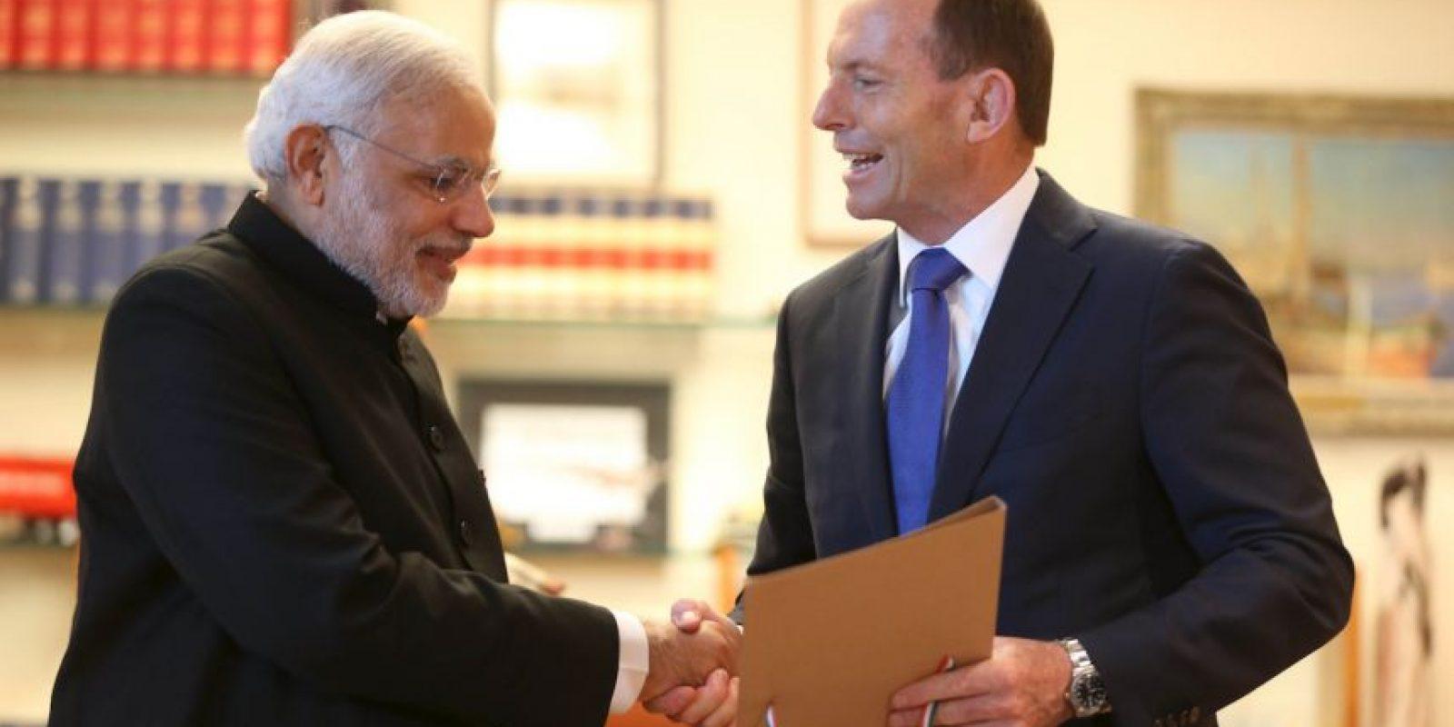 El Primer Ministro Narendra y su reunión en Australia. Foto:Getty