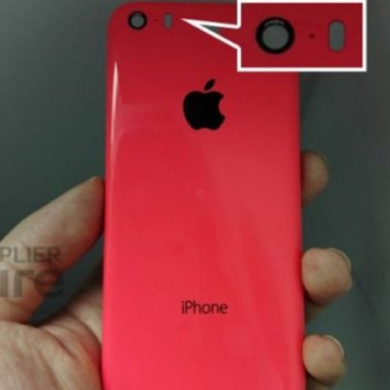 iPhone 6C con el flash ovalado. Foto: futuresupplier.com