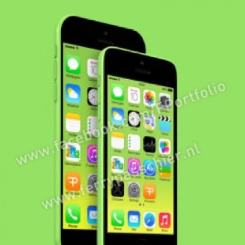 Otra posible vista del iPhone 6C. Foto: facebook.com/FPortofolio
