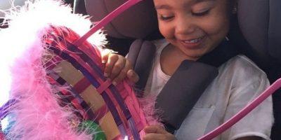 Nori presumiendo su linda canasta Foto:Instagram Kim Kardashian
