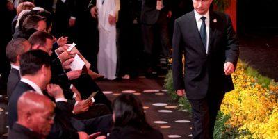 El presidente Vladimir Putin también asistió Foto:Getty