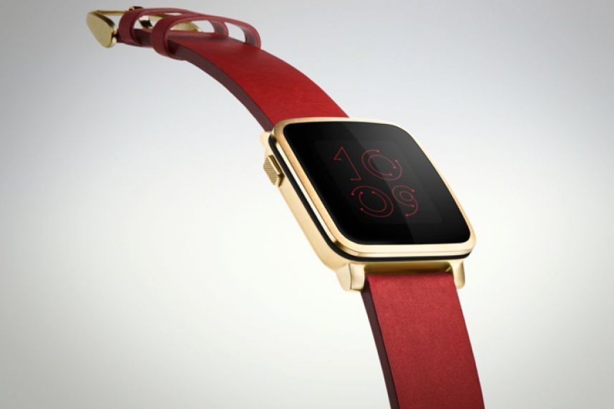 Y ahora competirá directamente con Apple por el mejor reloj inteligente. Foto:Pebble