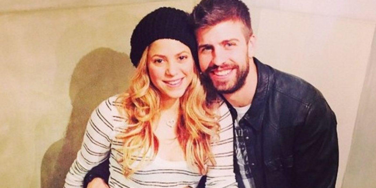 Shakira y Gerard Piqué son los padres de Milán y Sasha Foto:Instagram Gerard Piqué