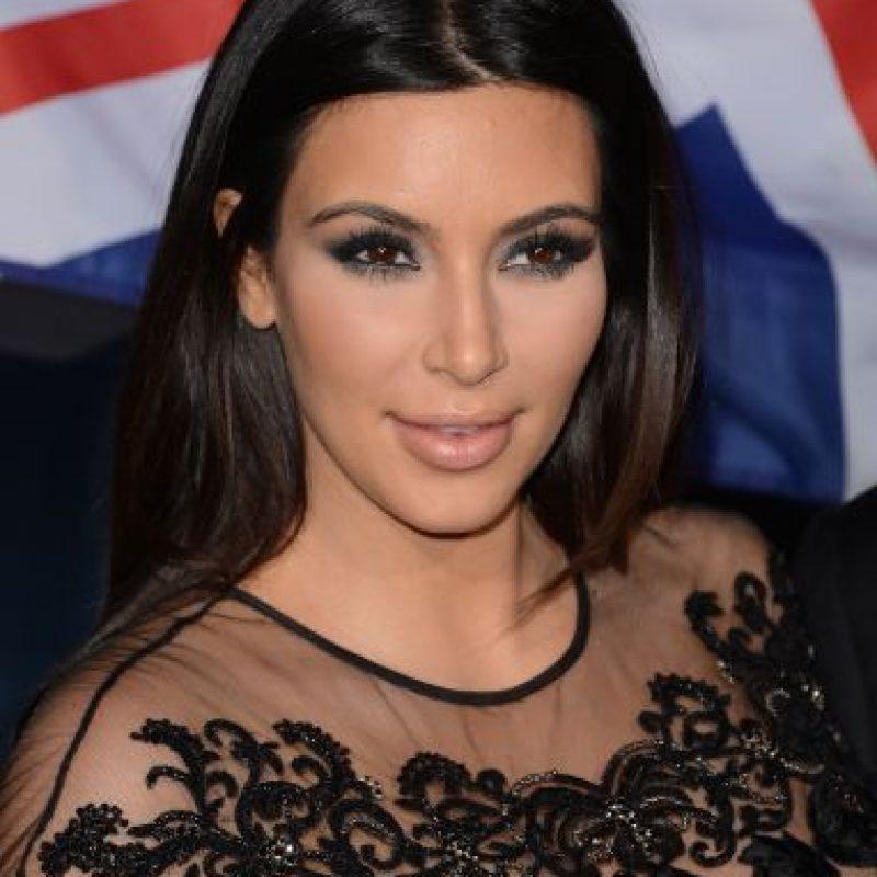 Tiene una hija, North West, fruto de su relación con el rapero Kanye West. Foto:Getty