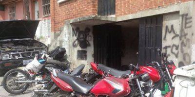 Escondía motocicletas robadas en vivienda de la zona 7