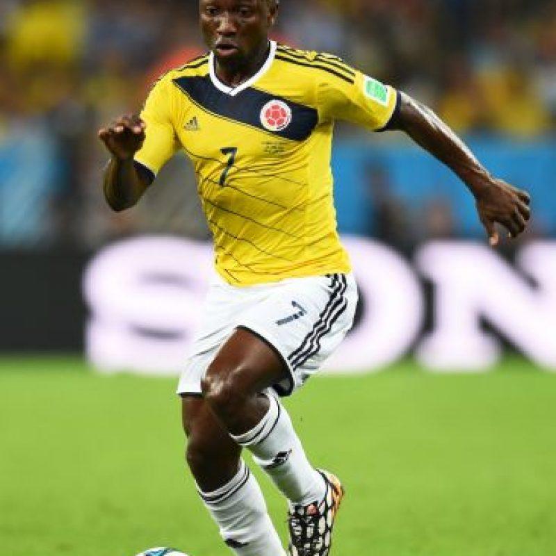 Fue parte de la selección de Colombia que tuvo un papel destacado en Brasil 2014. Foto:Getty Images