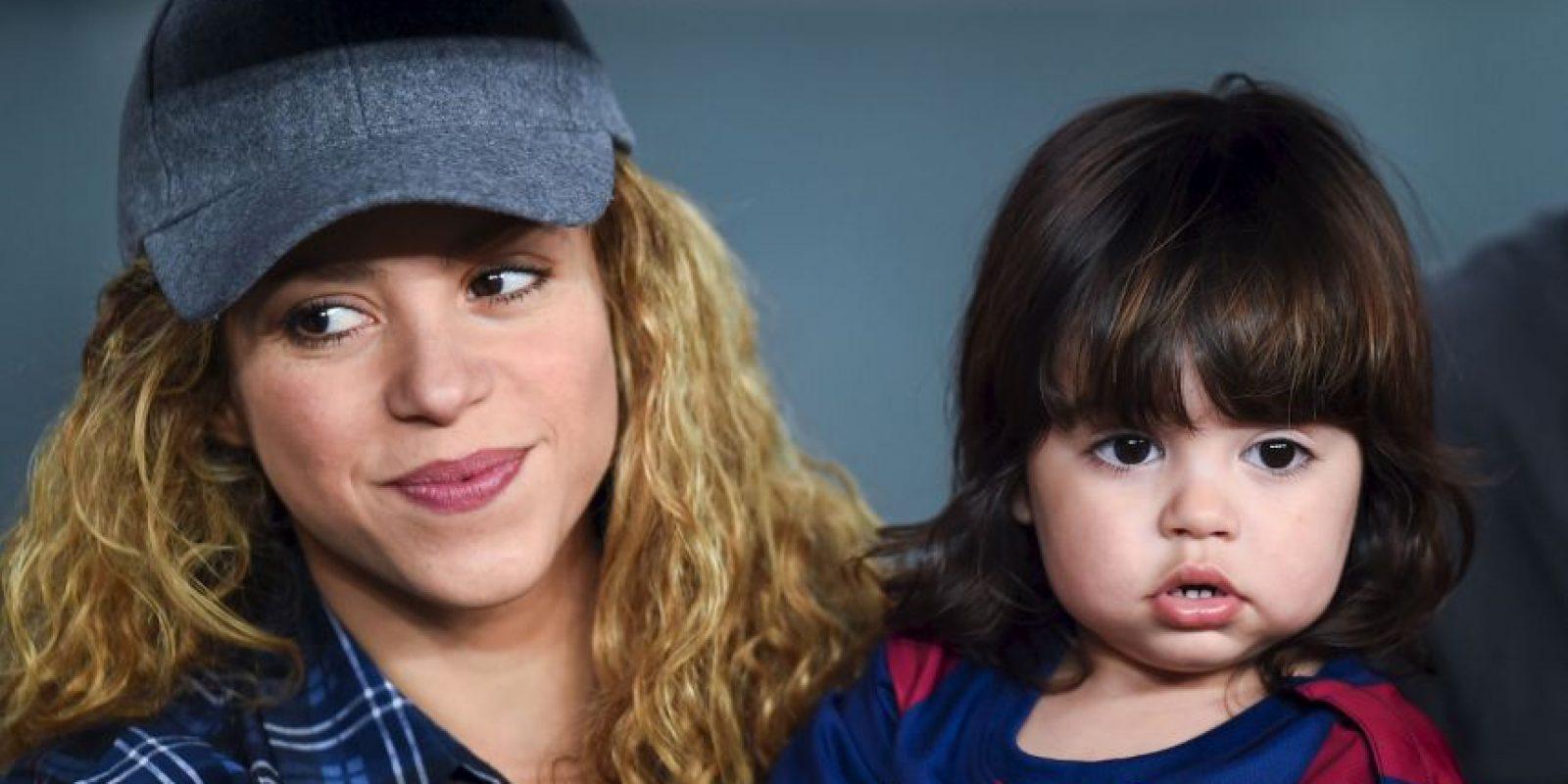 Shakira y Milán Foto:Getty