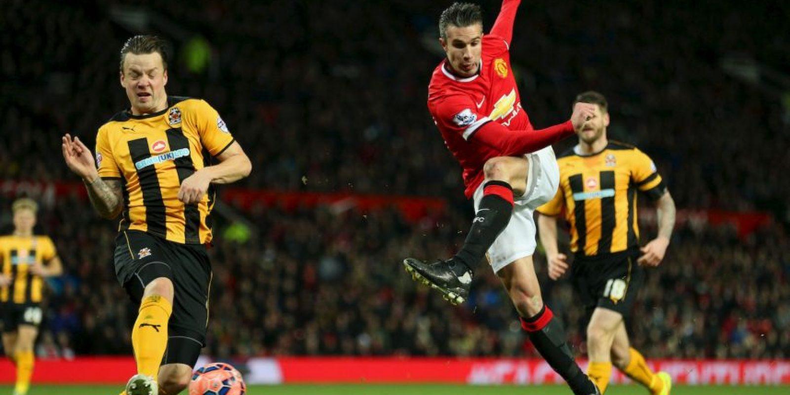 El holandés está en el Manchester United Foto:Getty Images