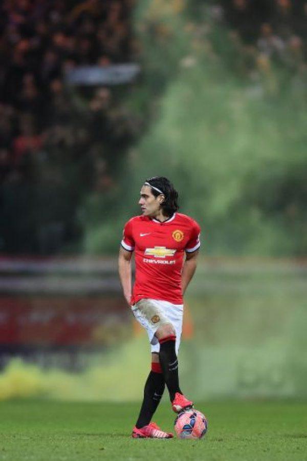 """El colombiano también forma parte del plantel de los """"Red Devils"""" Foto:Getty Images"""