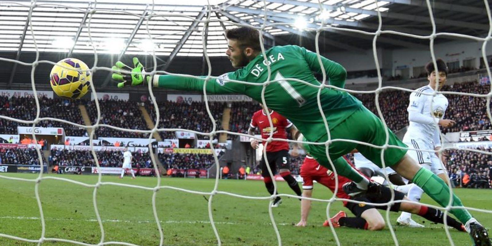 El español es el guardavallas del Manchester United Foto:Getty Images