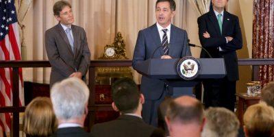 La comitiva estadounidense está encabezada por el Subsecretario de Estado, Tom Malinowski. Foto:Getty