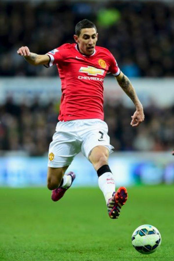 El argentino milita en el Manchester United Foto:Getty Images