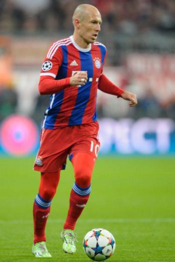 El delantero holandés ocupa el segundo lugar con 92 puntos. Foto:Getty Images