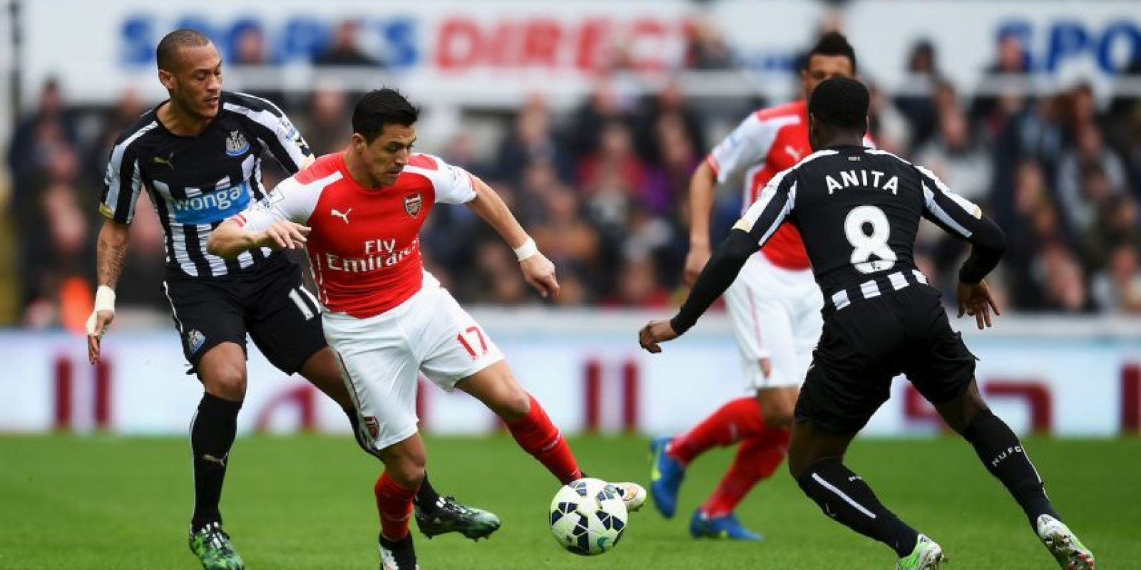 El chileno es figura en el Arsenal Foto: Getty Images
