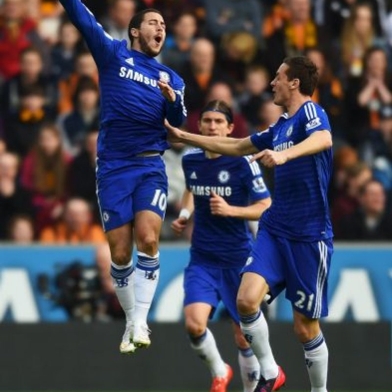 El belga se destaca en el Chelsea Foto: Getty Images
