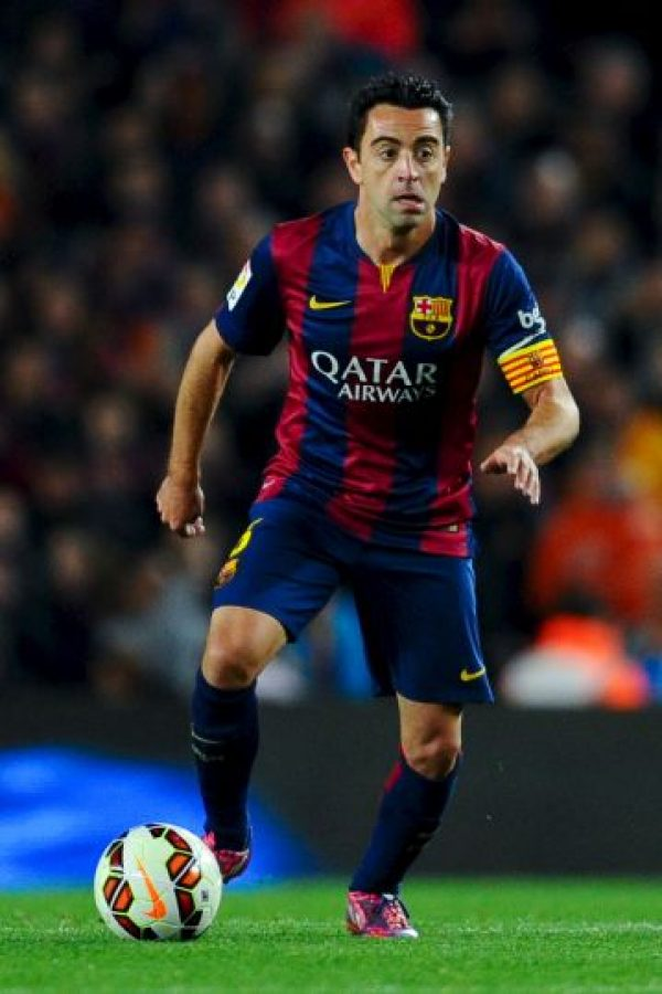 4. Xavi Hernández Foto: Getty Images