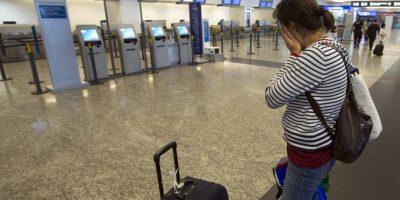 Argentinos no tienen modo de viajar a causa de la huelga. Foto:AP