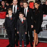 La familia Beckham está integrada por Brooklyn, Romeo, Cruz David y Harper. Obvio, además de David y Victoria Foto:Getty