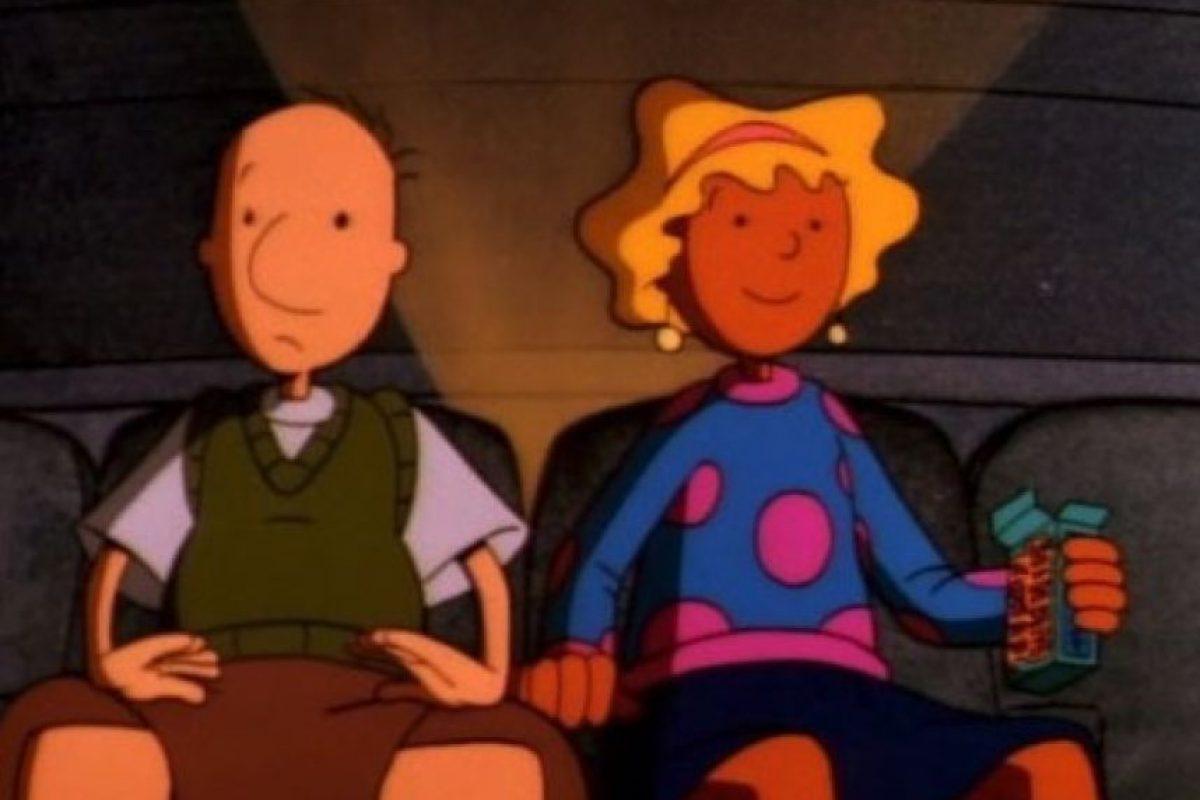 """¿Recuerdan a Doug? Este personaje animado estaba enamorado de la adorable """"Patti"""". Foto:IMDB"""