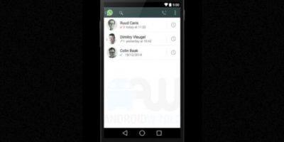 La opción para ver los registros de llamadas. Foto:Android World