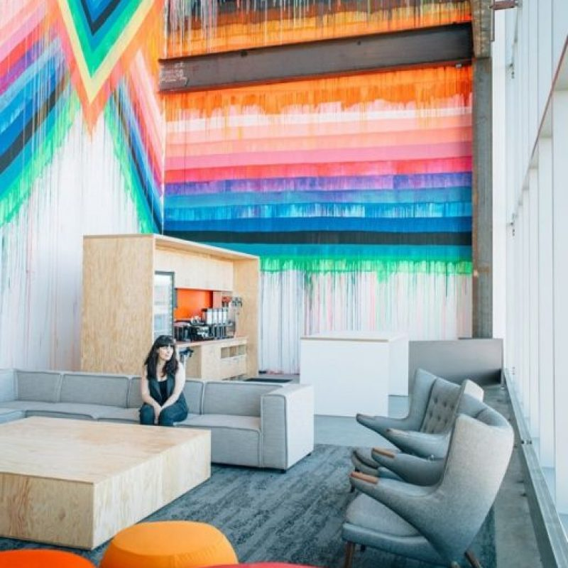 Así de coloridos son los muros. Foto:instagram.com/coryiander