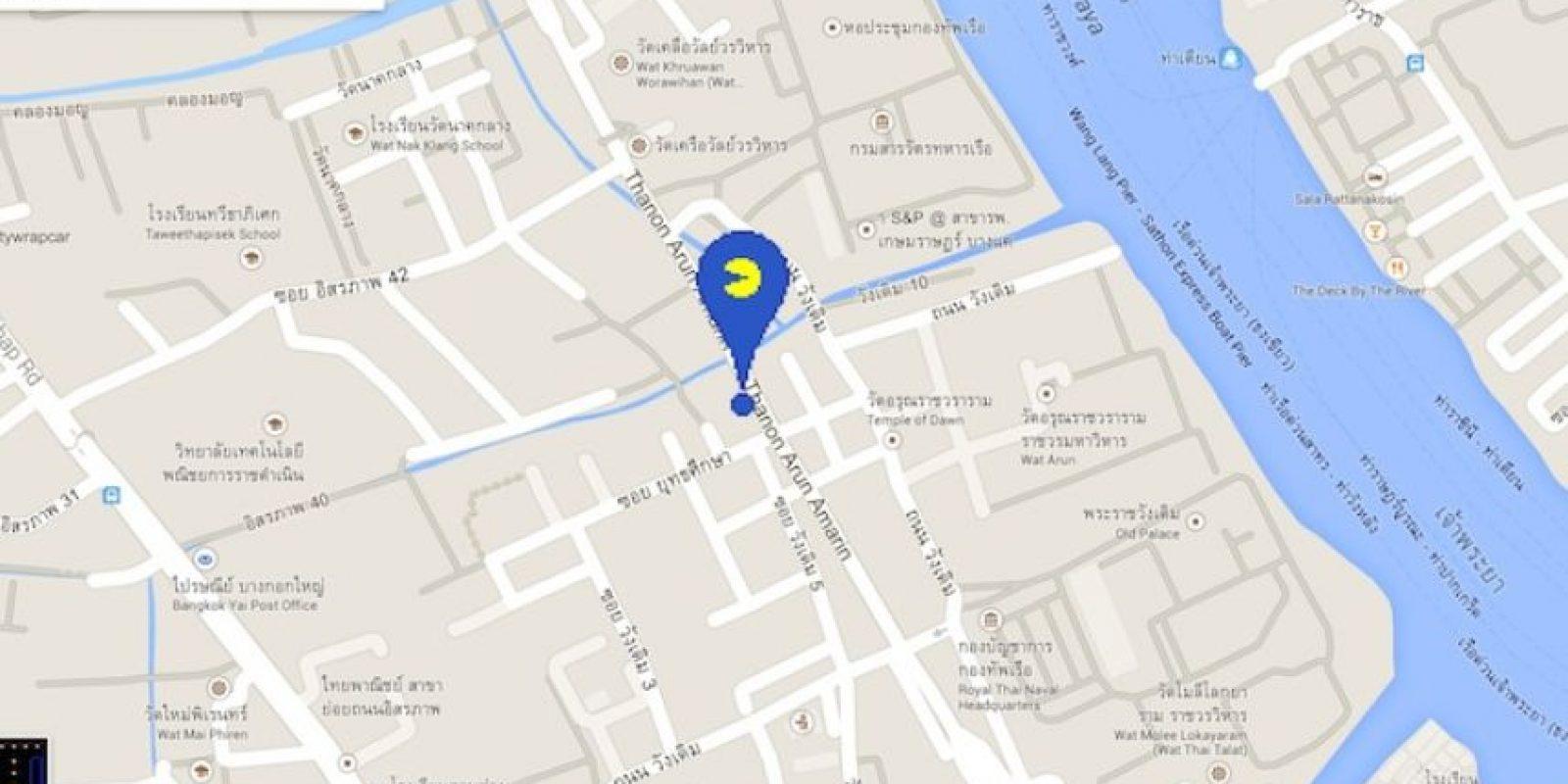 El marcador que deben localizar para empezar a jugar. Foto:Google Maps