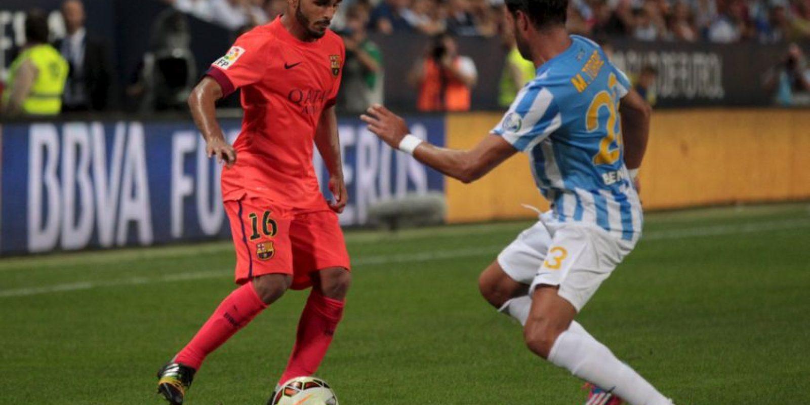 Llegó esta campaña al club catalán por cerca de cinco millones de euros Foto:Getty Images