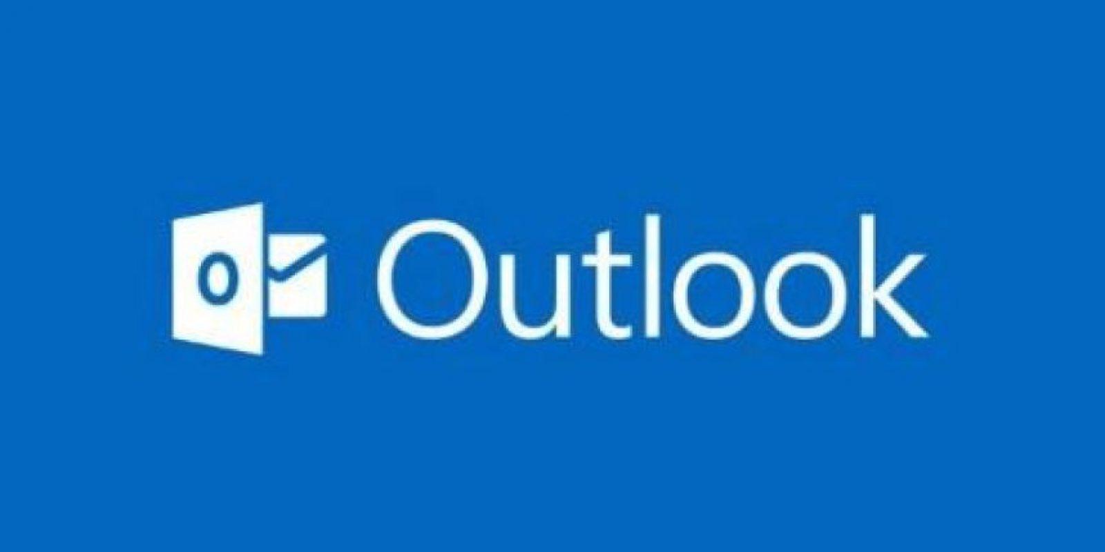 Outlook de Microsoft es uno de los más populares. Primero fue MSN y después Hotmail. Foto:Outlook