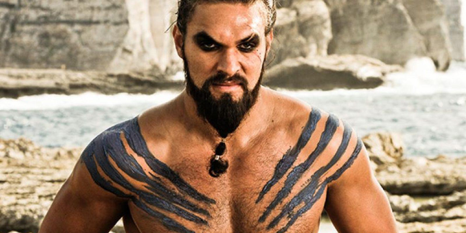 """Khal Drogo"", interpretado por Jason Momoa Foto:HBO"