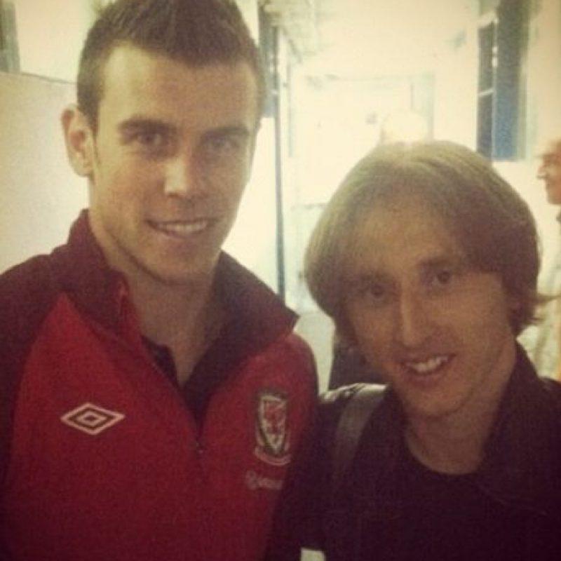 A los 23 años se marchó al Tottenham de la Liga Premier donde comenzó a destacar. Foto:Instagram @lukam10