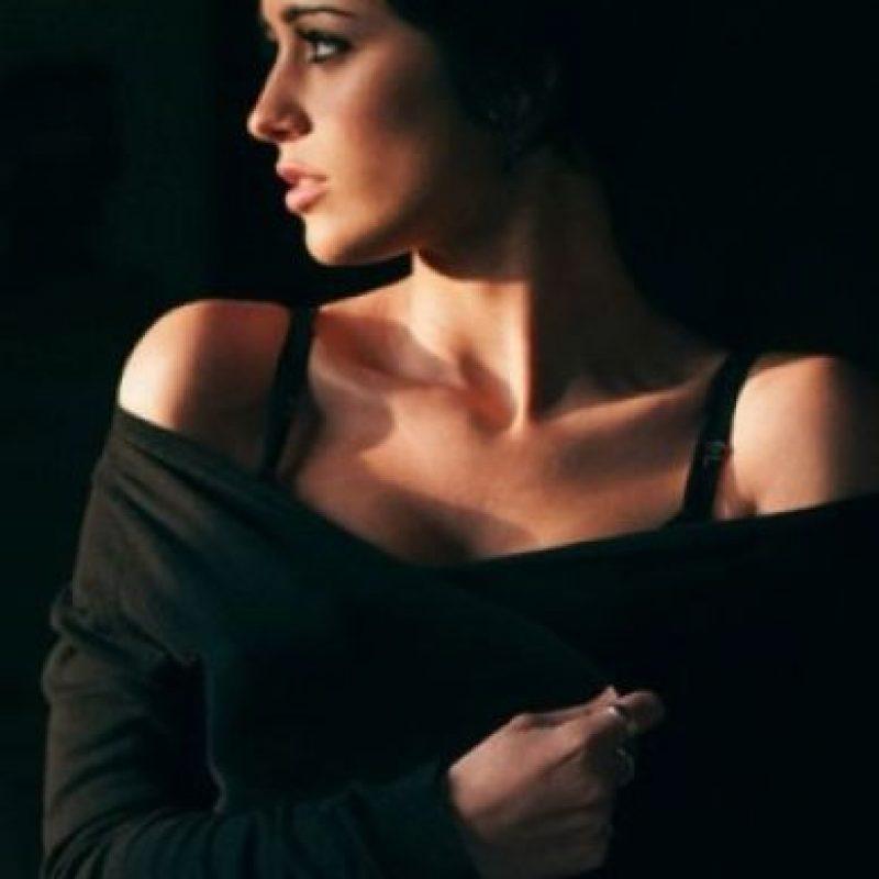 5. Una barbilla poco pronunciada y regular con una extensión de 0,21 unidades. Foto:Tumblr.com/tagged-mujer-guapa