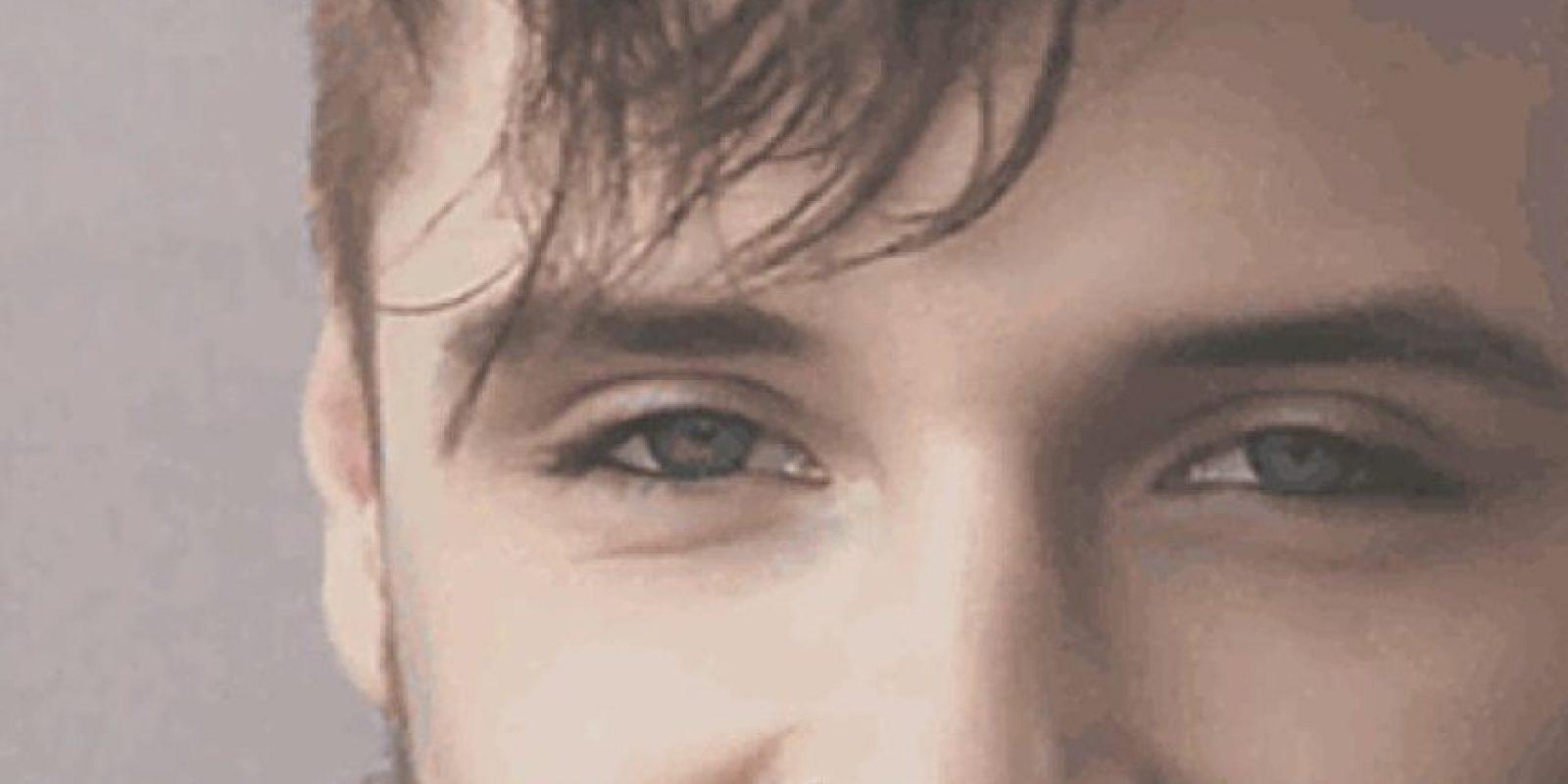 3. Nariz delgada, de longitud media y recta. Foto:Tumblr.com/Tagged-hombre-ojos-azulesTumblr.com/Tagged-hombre-ojos-azules