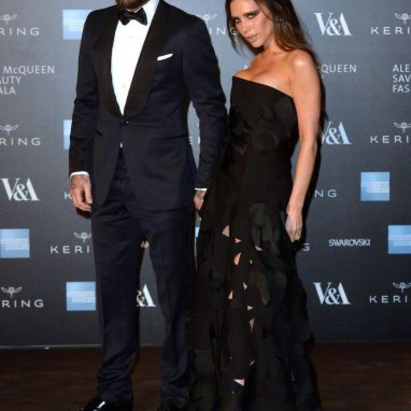 David y Victoria Beckham Foto:Getty